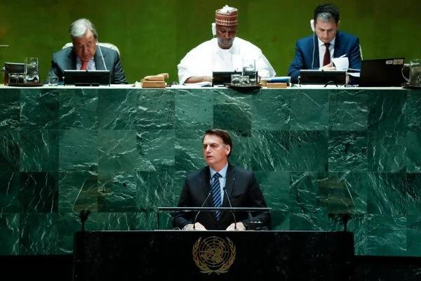 O DISCURSO DO PRESIDENTE BOLSONARO NA ASSEMBLEIA DA ONU