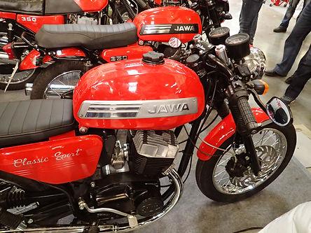 Jawa Classic Sport right