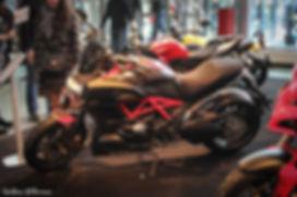 Мотозима - Ducati Diavel