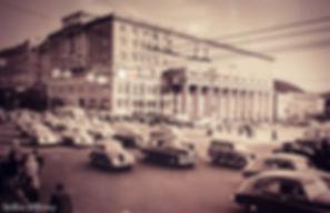 На дорогах Москвы, 1950-60-е годы