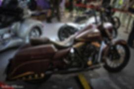 Мотозима - Harley-Davidson FLHR Gold Digger by Мотогараж