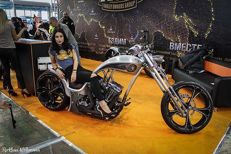 Мотозима - Harley-Davidson custom HOG Moscow