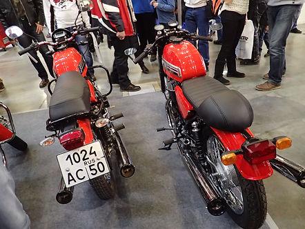 Jawa Classic Sport back