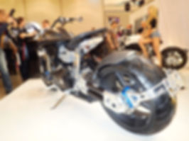 Confederate X132 Hellcat Speedster back