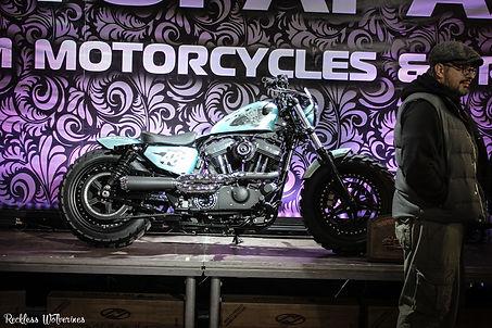 Мотозима - Harley-Davidson Sportster Forty-Eight by Мотогараж