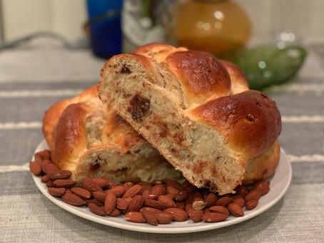 Almond Joy Challah