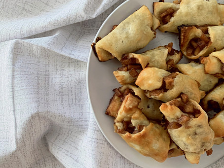 Apples and Honey Rugelach