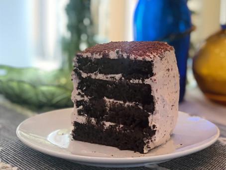 Black Forest Flourless Chocolate Cake