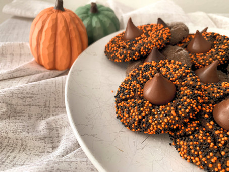Chocolate Witch's Hat Cookies