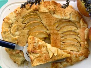 Apples and Honey Frangipane Galette