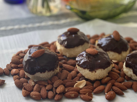 Almond Joy Macaroons