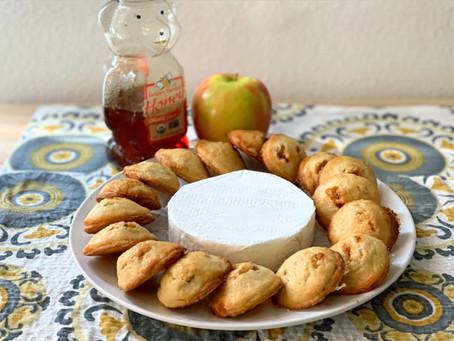 Apple, Honey, and Brie Bites