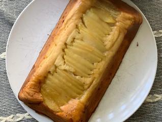 Apples and Honey Pound Cake