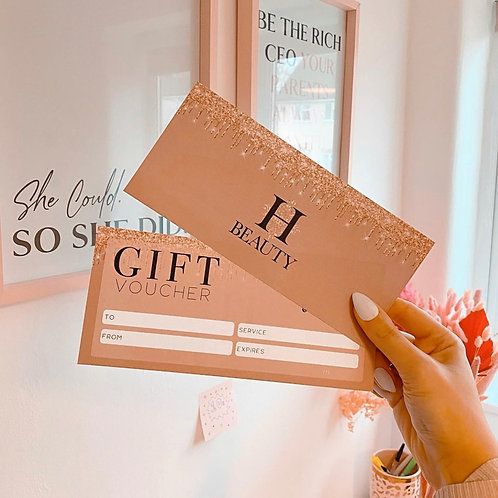 H-beauty Gift Voucher- Collection or Postal Voucher Starting From