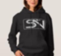 Steven Neevs Women's Sweatshirt Black.PN