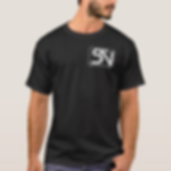 Steven Neevs Men's Basic Shirt Black.PNG