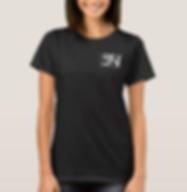 Steven Neevs Women's Basic Shirt Black.P