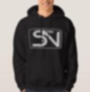 Steven Neevs Men's Sweatshirt Black.PNG