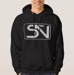 Steven Neevs Men's Sweatshirt Black.PNG