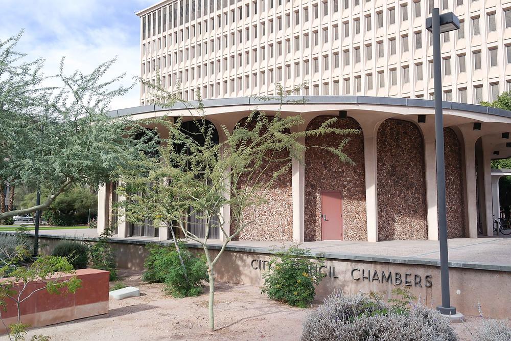 Phoenix City Council Chambers (via Wikimedia Commons)