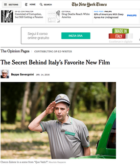 The Secret Behind Italy's Favorite New Film