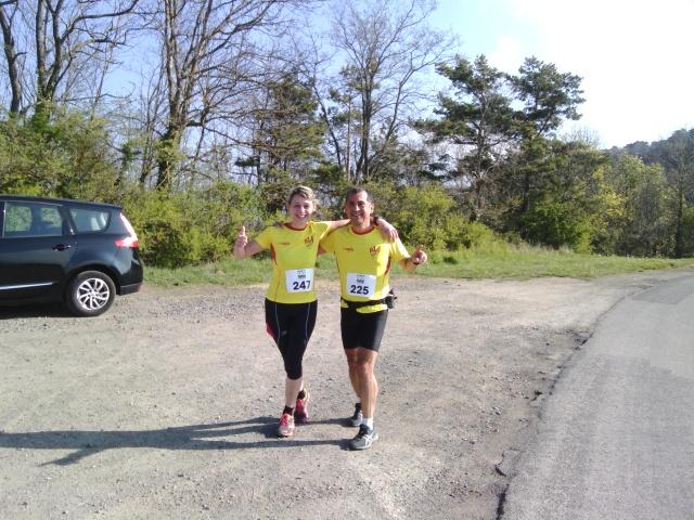 Les courses de la section Jogging