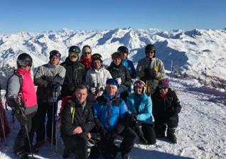 Sortie Ski pour la section Jogging