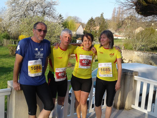 L'ALA au marathon de Châlon