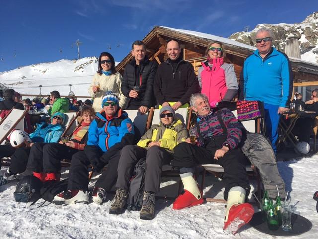 Weekend ski pour la section jogging de l'Amicale Laïque Aubière