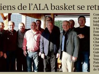 Les anciens de l'ALA Basket se retrouvent