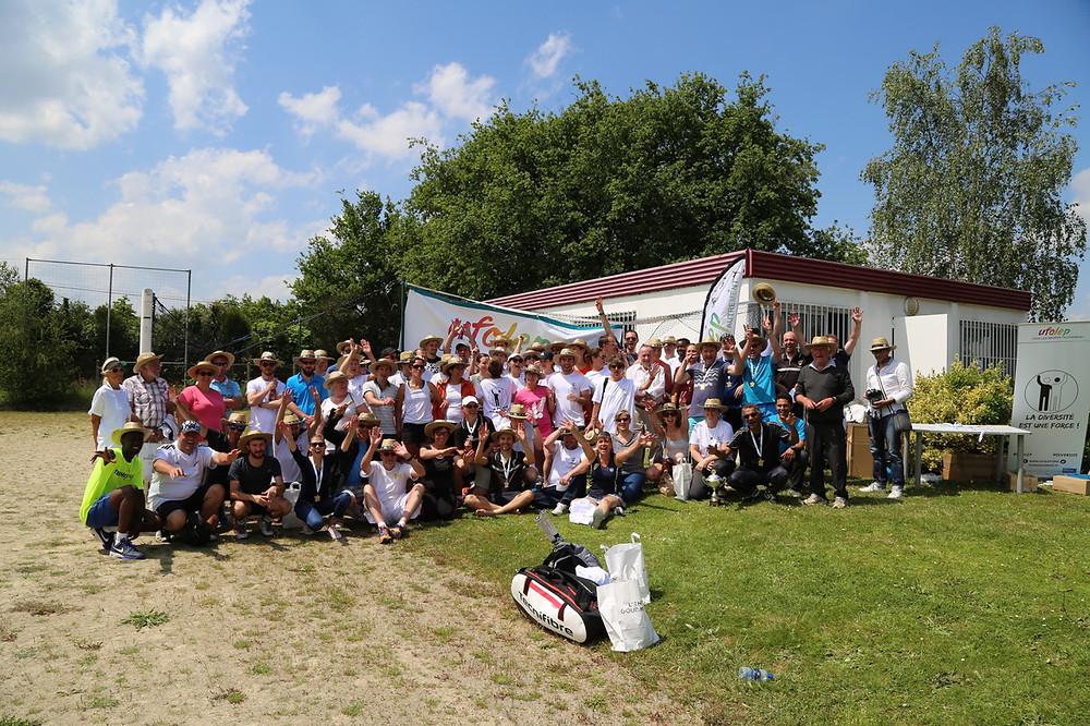 Réunion UFOLEP à Nantes pour la section Tennis de l'ALA