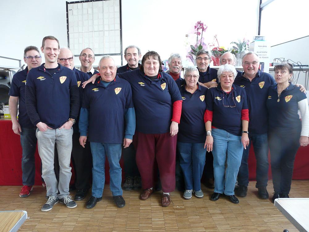 Une équipe soudée et impliquée à l'Amicale Laïque Aubière