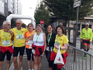 L'Amicale sur le semi-marathon des Puys