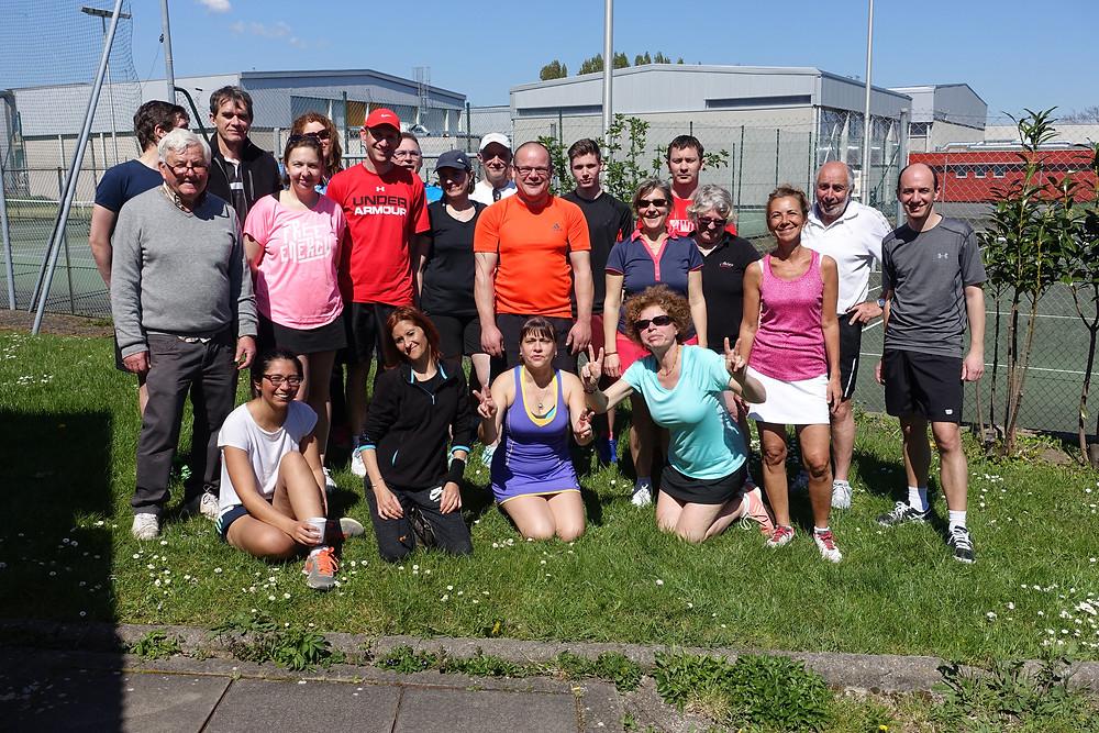 Section tennis de l'Amicale Laïque d'Aubière - Rencontres en collaboration avec l'UFOLEP 63
