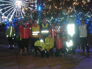 Sortie de Noël pour la section Jogging