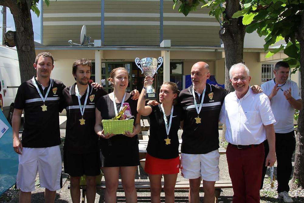 Le tennis à Aubière Champion