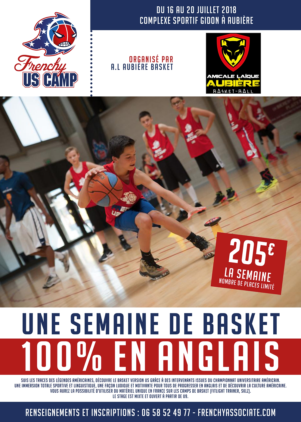 Section basket de l'ALA