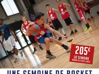 Une semaine de Basket pour nos jeunes licenciés BASKET de l'ALA