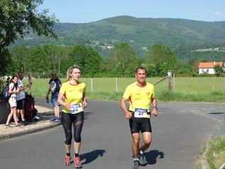 Derniers résultats au trail d'Ambert et le 10km de Brive