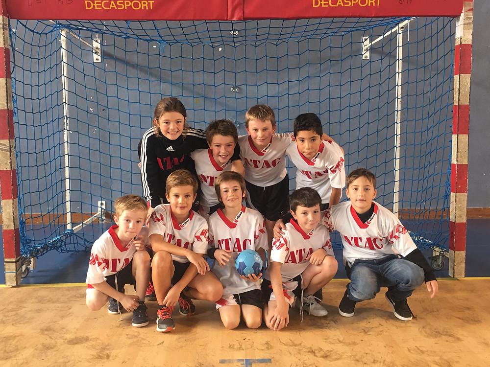 Les -11 de la section Handball de l'ALA