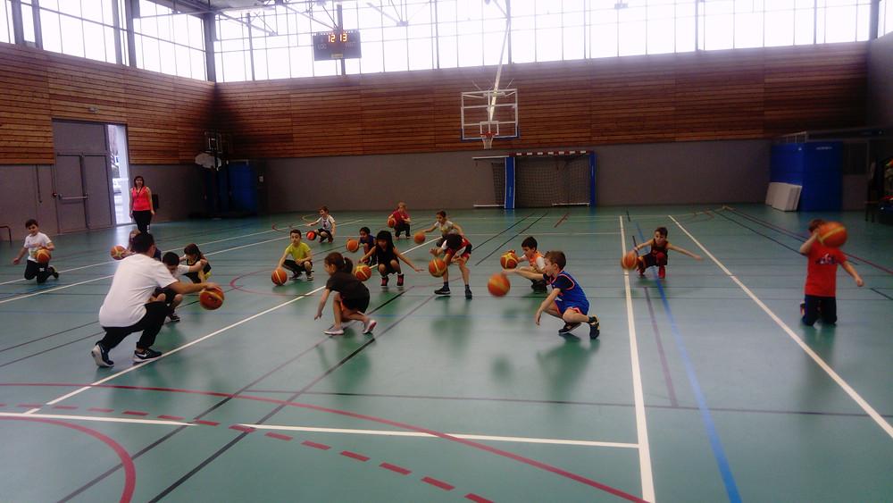 ALA Basket : école pour les tous petits !