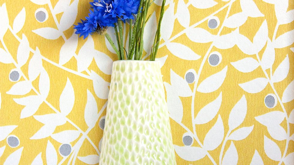 Lime Green wall vase