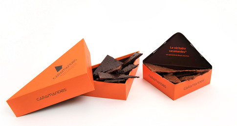 Caramandes de la chocolaterie Benoît