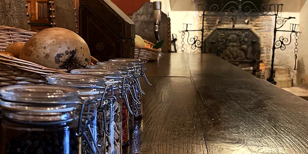 Atelier au château du Plessis-Macé autour de la cuisine au moyen-âge