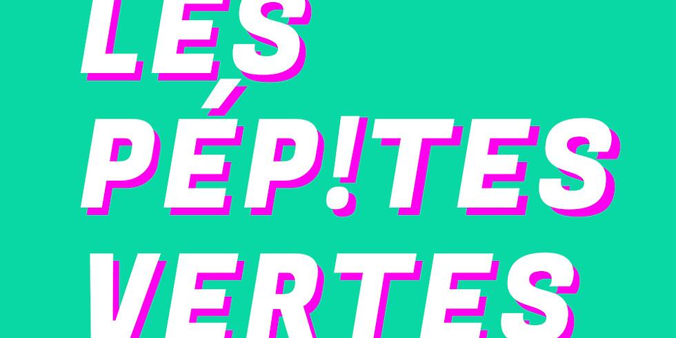 Live : « les Pepites Vertes » de Claire Petreault sur radio Campus