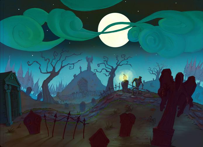 Project Innerva : Old Graveyard B