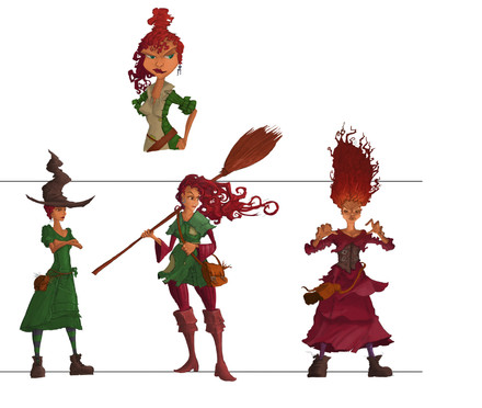 Project Innerva : Witches