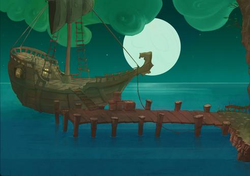 Project Innerva : Smugler's Dock