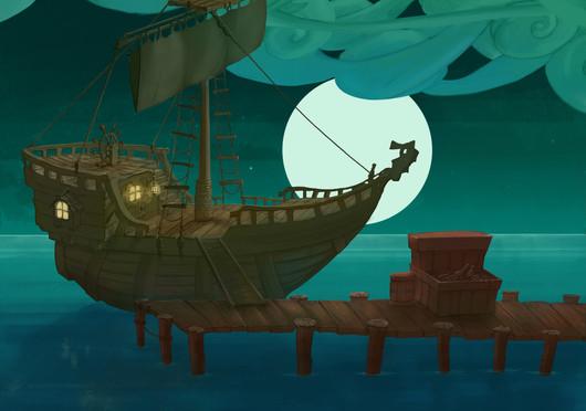 Project Innerva : Smugler's Dock Boaty