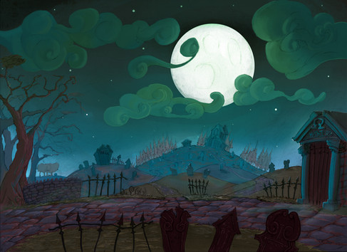 Project Innerva : Old Graveyard A